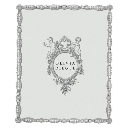 Olivia Riegel Asbury 8X10 Silver Frame