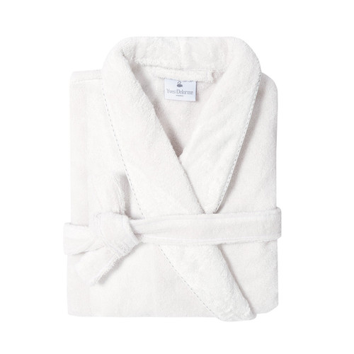 Yves Delorme Antic Shawl Collar Bathrobe Antic