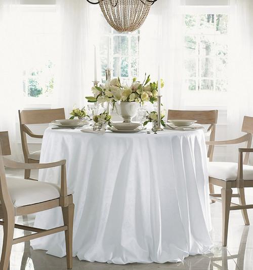 Sferra Acanthus Round Tablecloth
