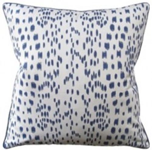 Ryan Studio Decorative Pillow Les Touches Blue