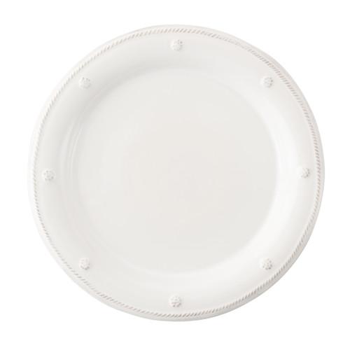 Juliska Berry & Thread Whitewash Salad/Dessert Plate