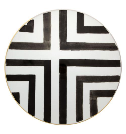 "Christian La Croix Sol & Sombra Charger Plate 13"""