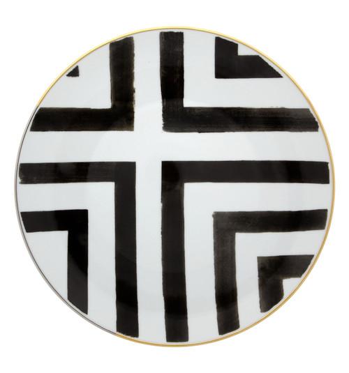 "Christian La Croix Sol & Sombra Dinner Plate 11"""