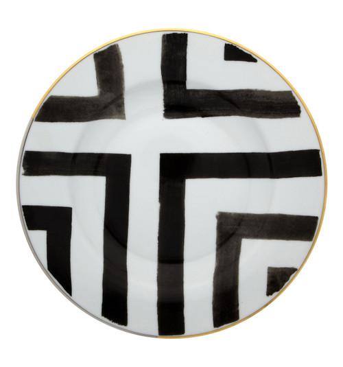 """Christian La Croix Sol & Sombra Soup Plate 9"""""""