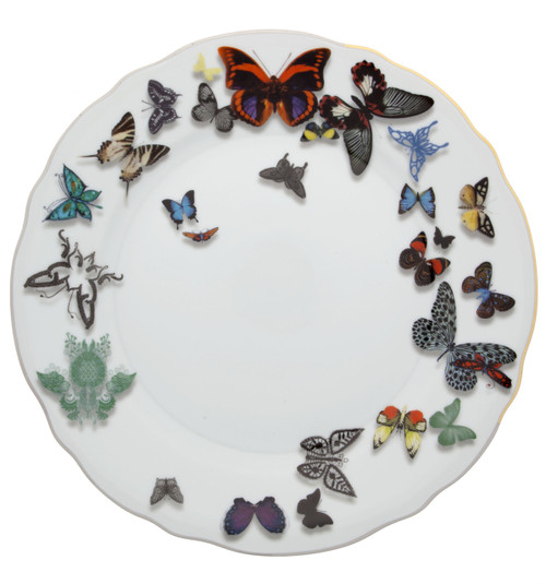 """Christian La Croix Butterfly Parade Dinner plate 10"""""""