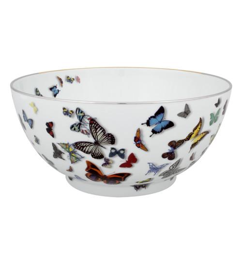 "Christian La Croix Butterfly Parade Salad bowl 11"""