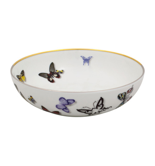 """Christian La Croix Butterfly Parade Cereal bowl 6.5"""""""