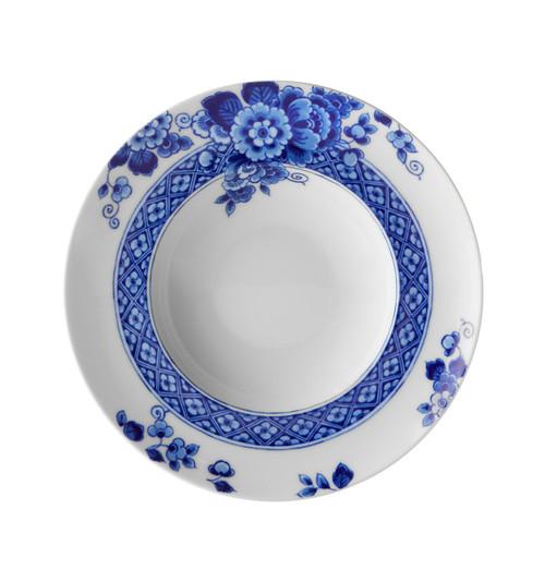 "Vista Alegre Blue Ming Soup plate 10"""