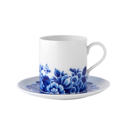 Vista Alegre Blue Ming Tea Cup & Saucer 10oz
