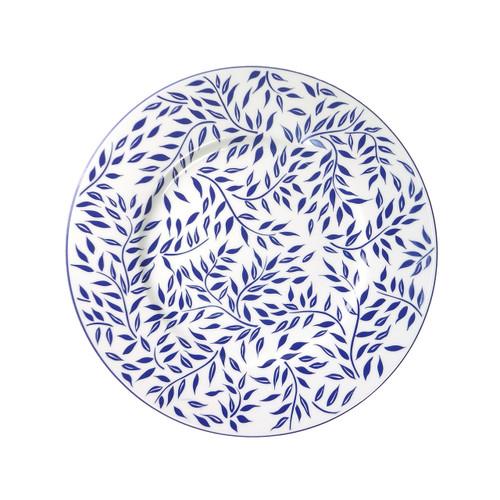 """Royal Limoges Olivier Blue Presentation Plate 12.6"""""""