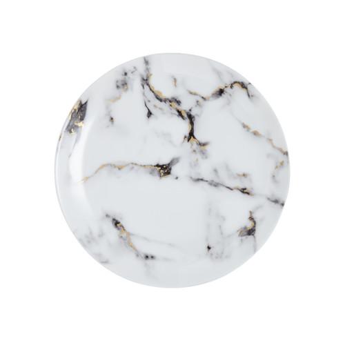 "Prouna Marble Venice Fog - 10.5"" Dinner Plate"