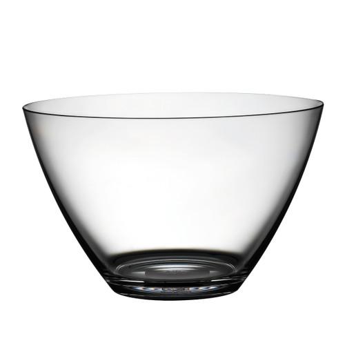 """Mepra Policarbonato 11"""" Round bowl, Transparent"""