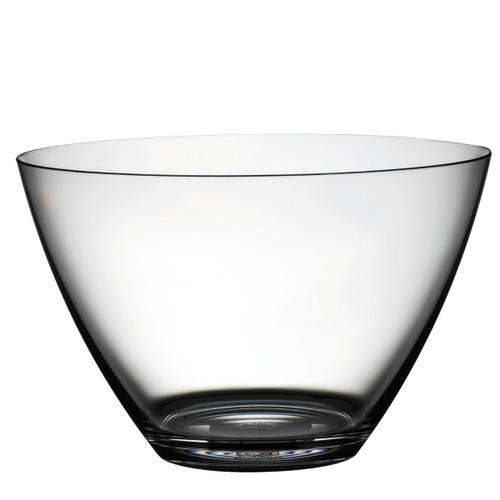 """Mepra Policarbonato 8.5"""" Round bowl, Transparent"""