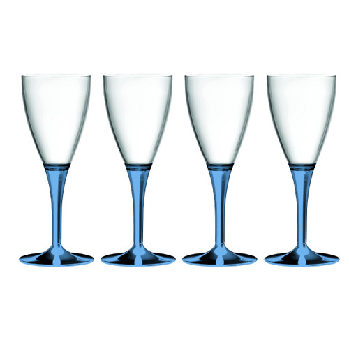 Mepra Polycarbonato Sapphire A/P Goblet S/4