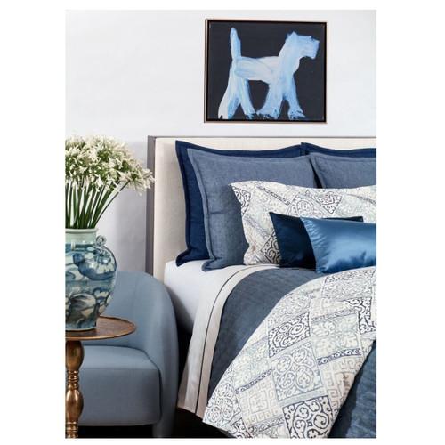 Ann Gish Oporto Blue Duvet