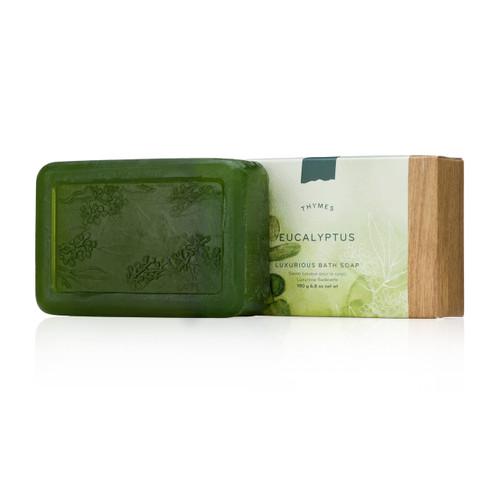 Thymes Eucalyptus Luxurious Bath Soap