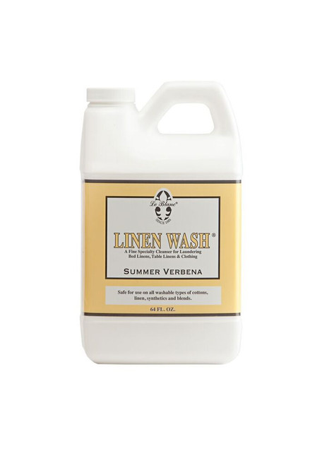 Le Blanc Summer Verbena Linen Wash - 64 oz.