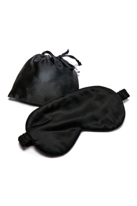 Gingerlily Silk Eye Mask - Black