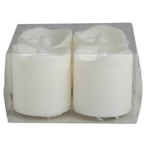 TAG LED Ivory Votives Set (Set of 4)