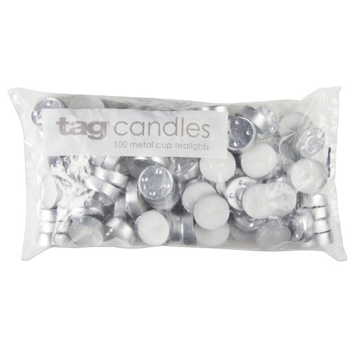 TAG Bag of 100 Tealight Candles