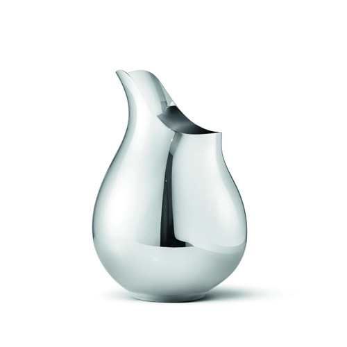 Georg Jensen Ilse Vase Stainless Steel