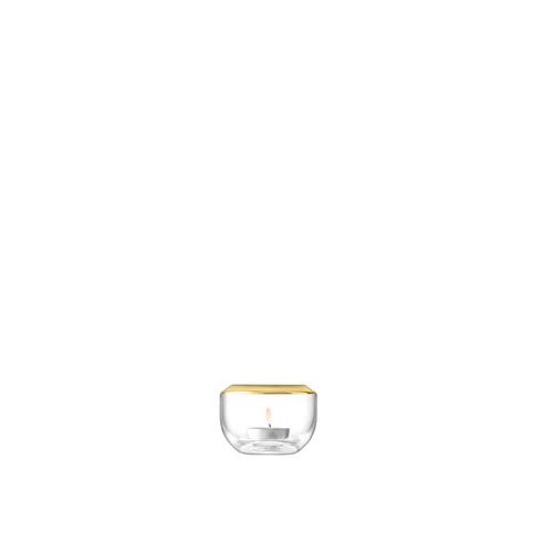 LSA Space Votive Holder - Gold
