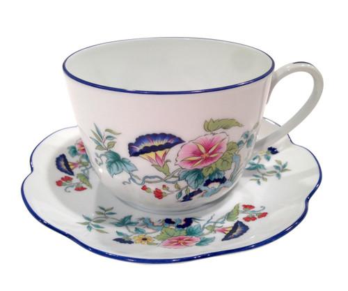 Royal Limoges Paradis Bleu Tea Saucer