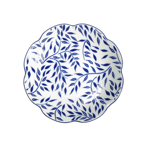 Royal Limoges Olivier Blue Salad Bowl