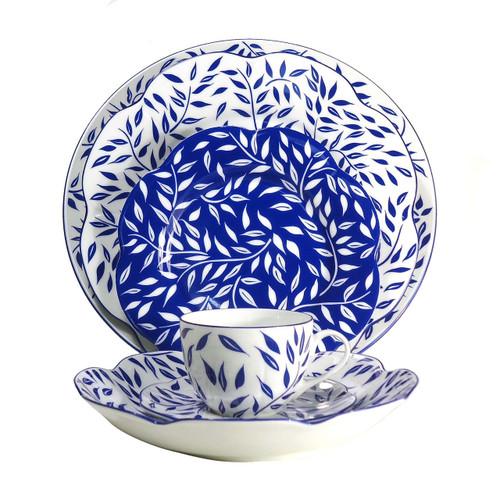 Royal Limoges Olivier Blue Coffee Cup