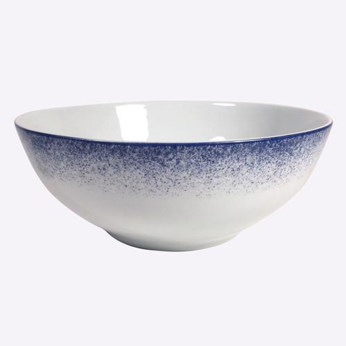 Royal Limoges Fire Blue Salad Bowl