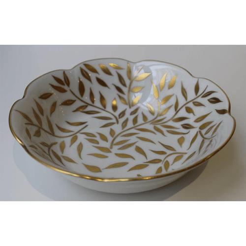 Royal Limoges Olivier Gold Soup/Cereal Bowl