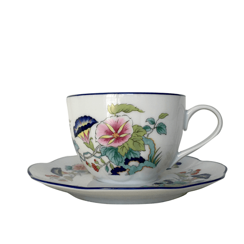 Royal Limoges Paradis Bleu Butterfly Tea Cup
