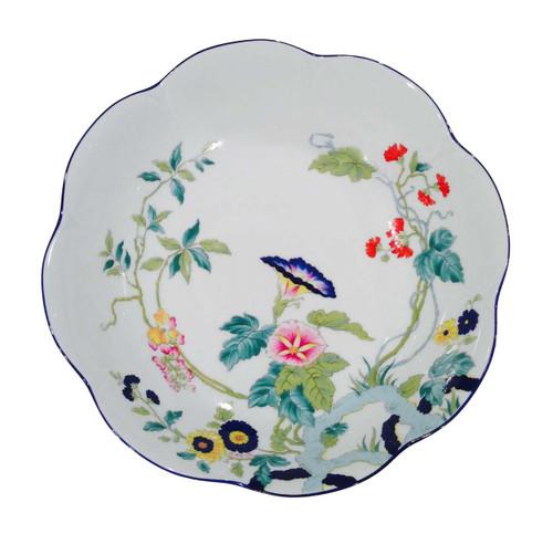 Royal Limoges Paradis Bleu Deep Round Platter
