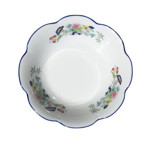 Royal Limoges Paradis Bleu Salad Bowl