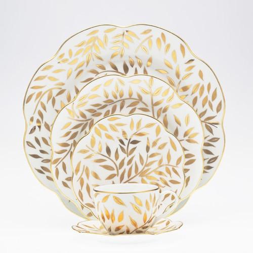 Royal Limoges Olivier Gold Bread & Butter Plate