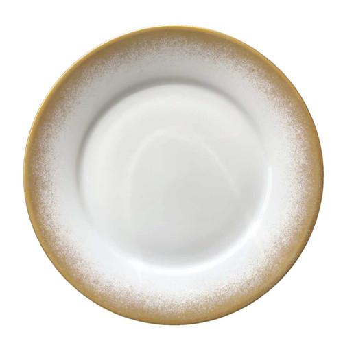 Royal Limoges Golden Fire Dessert Plate