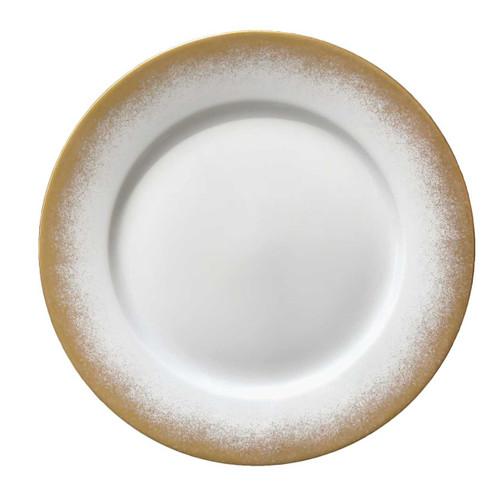 Royal Limoges Golden Fire Dinner Plate