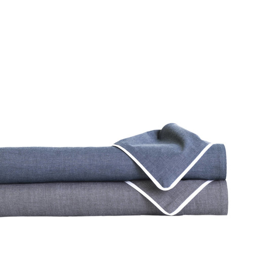 Pine Cone Hill Bed 101 Chambray Duvet Cover