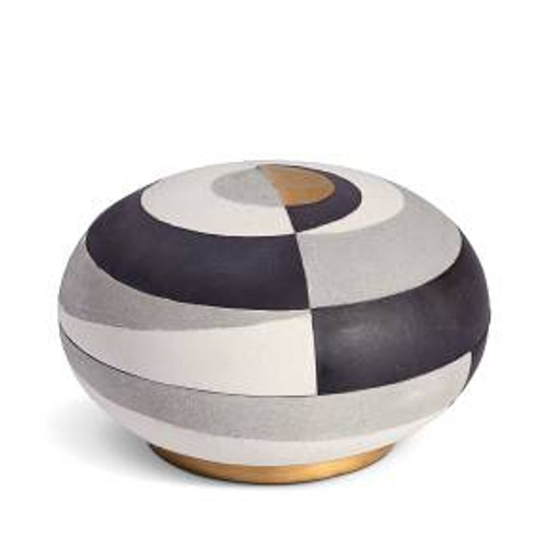 L'Objet Cubisme Round Box - Large