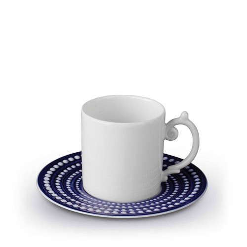 L'Objet Perlee Expresso Cup & Saucer