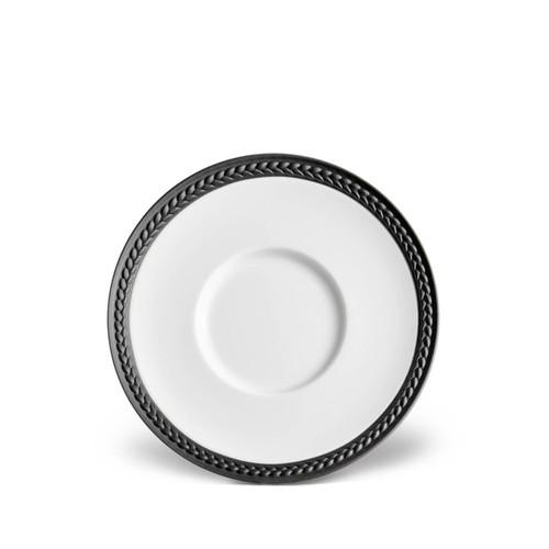 L'Objet Soie Tressée Sauce Dish + Spoon Rest