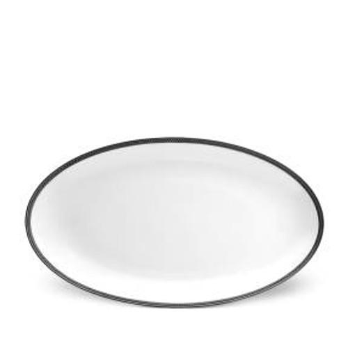 L'Objet Soie  Tressée Oval Platter