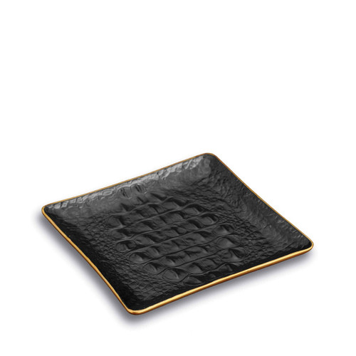 L'Objet Crocodile Square Tray
