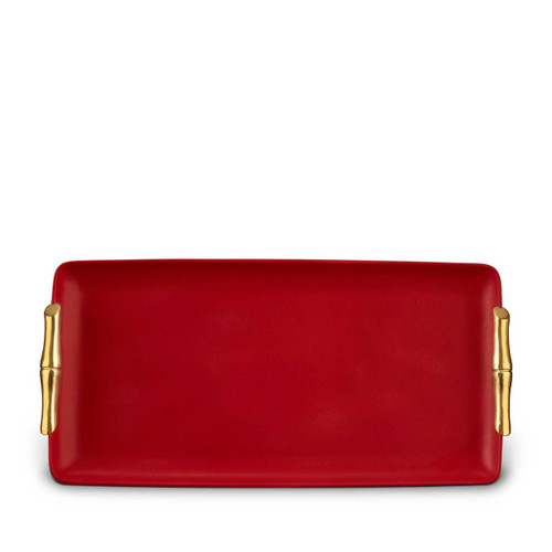 L'Objet Bambou Rectangular Tray - Medium