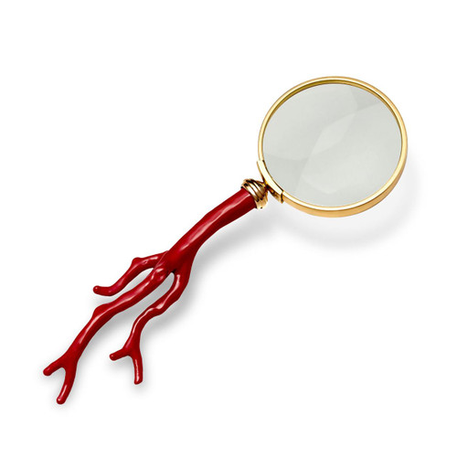 L'Objet Coral Magnifying Glass