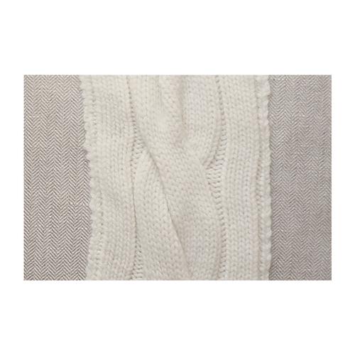 Rani Arabella Clardiges Beige Pillow - 17x17