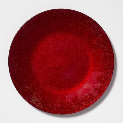 Vietri Glitter Glass Service Plate/Charger