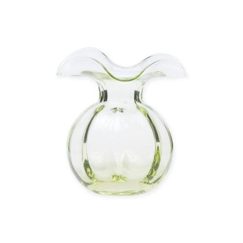 Vietri Hibiscus Glass Bud Vase