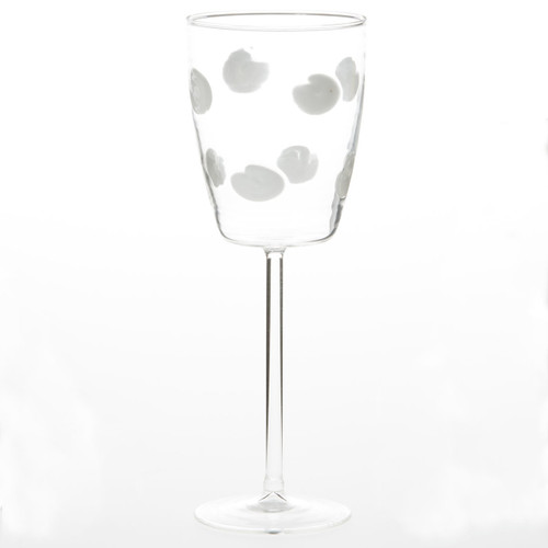 Vietri Drop Wine Glass
