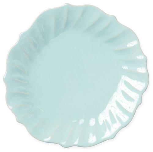Vietri Incanto Stone Ruffle Dinner Plate